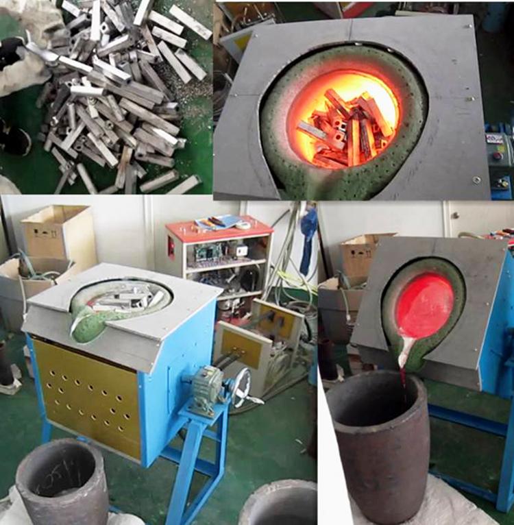 贵州遵义中频熔钢炉小型熔炼炉