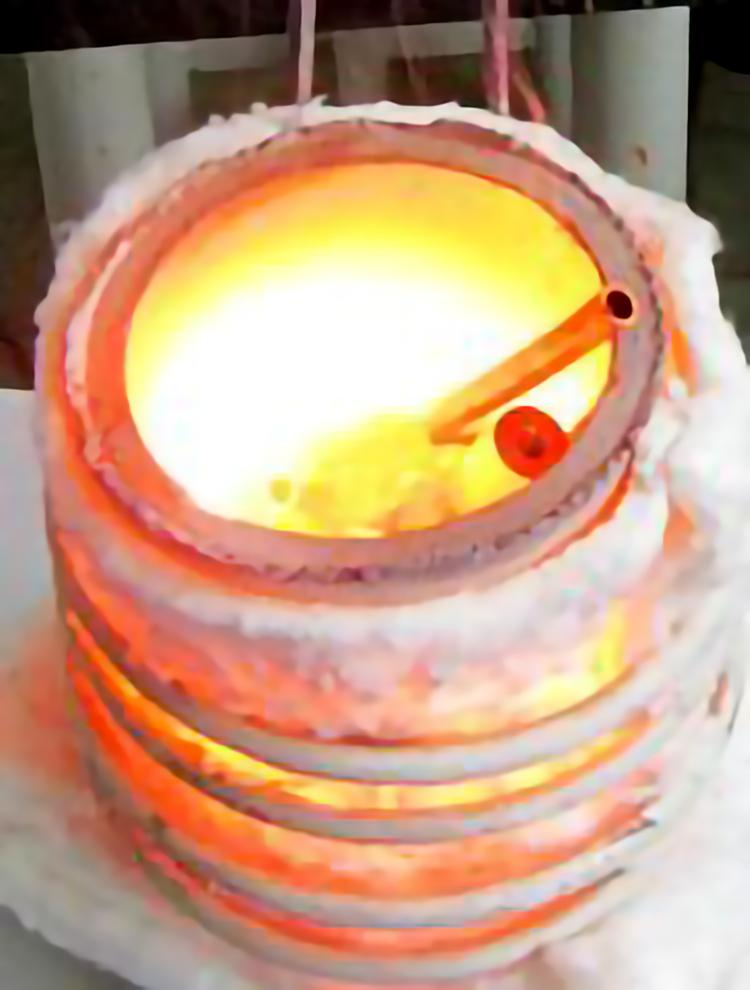 坩埚熔炼炉