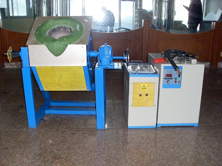 40公斤(KG)熔金炉中频熔金炉