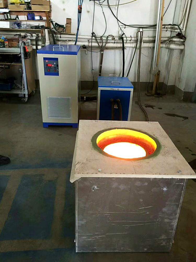 中频熔银炉